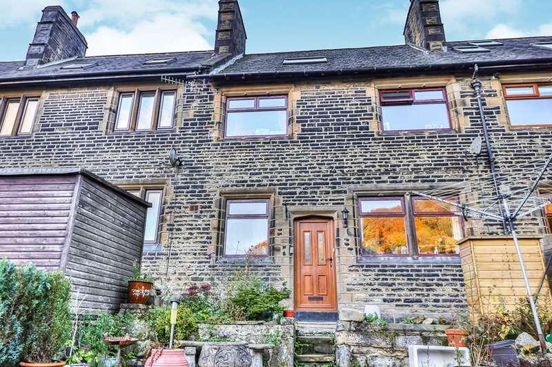 3 Bedrooms Terraced House for sale in Robinwood Terrace, Todmorden, OL14