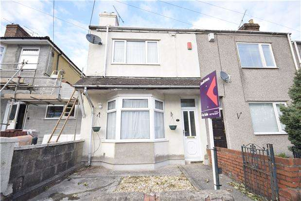 3 Bedrooms End Of Terrace House for sale in Gladstone Road, Kingswood, BRISTOL, BS15 1SW
