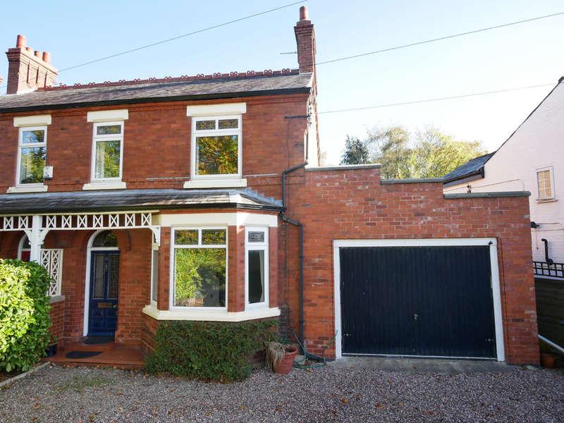 3 Bedrooms Semi Detached House for sale in Sandy Lane, Weaverham