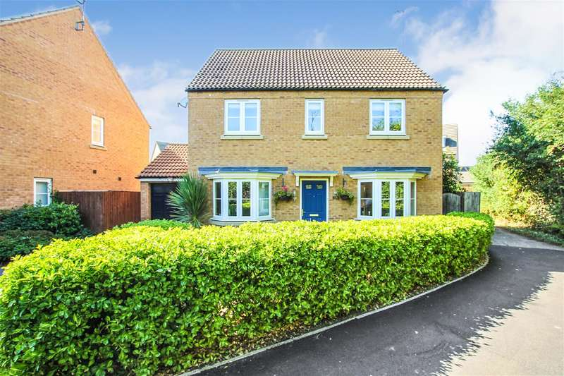4 Bedrooms Detached House for sale in Sandpiper Way, Leighton Buzzard