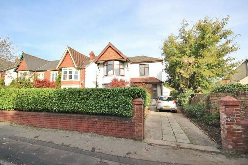 4 Bedrooms Detached House for sale in Wingfield Road, Whitchurch, Cardiff