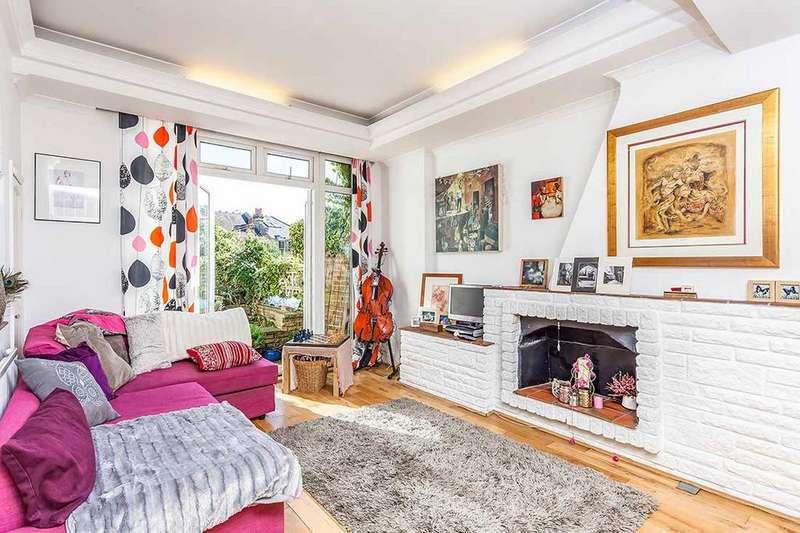 2 Bedrooms Ground Maisonette Flat for sale in Danvers Road, London