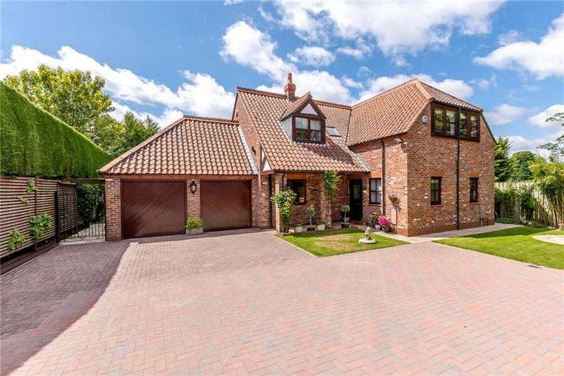 4 Bedrooms Detached House for sale in Hallgarth Close, Main Street, Nether Poppleton, York, YO26