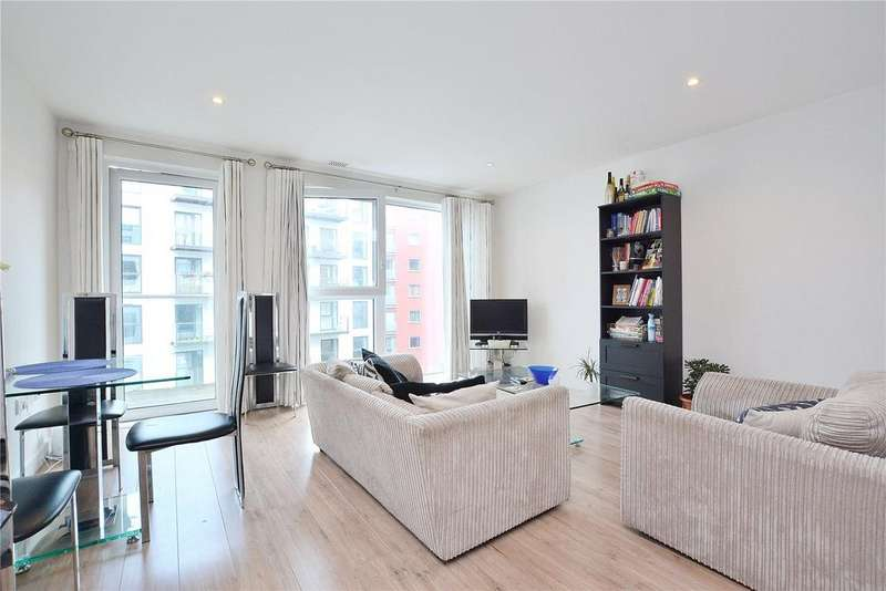 2 Bedrooms Flat for sale in Hudson Building, Greenwich, SE10