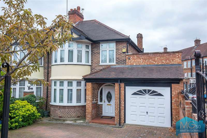 3 Bedrooms Semi Detached House for sale in The Woodlands, Southgate, London, N14
