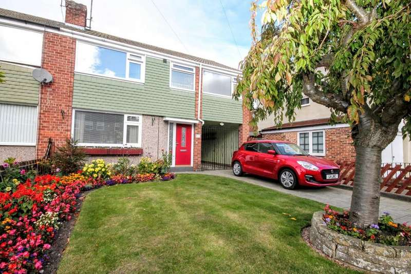 4 Bedrooms Semi Detached House for sale in Eastbourne Road, Darlington
