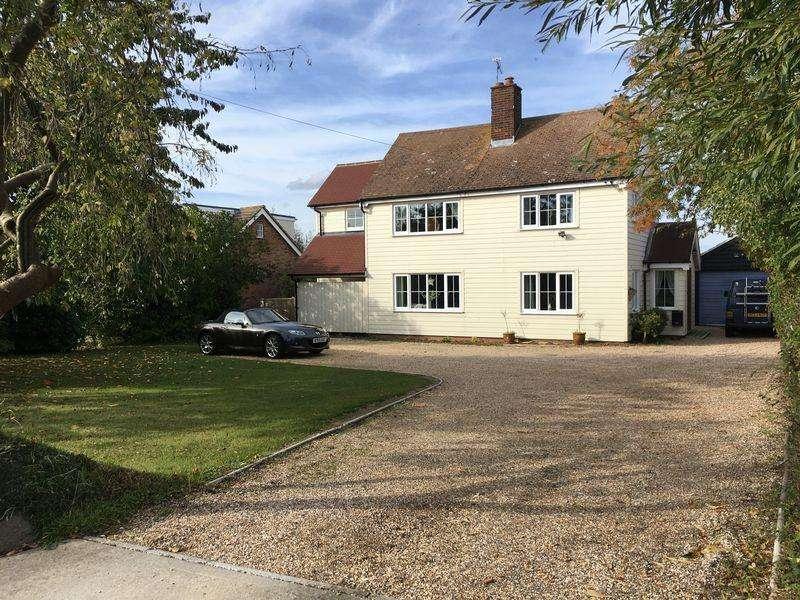 4 Bedrooms Detached House for sale in East Road, East Mersea, Essex