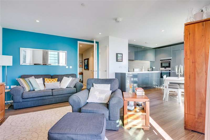2 Bedrooms Flat for sale in Copperlight Apartments, Buckhold Road, Wandsworth, London