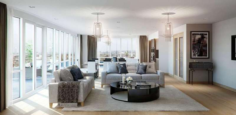 3 Bedrooms Apartment Flat for sale in Sovereign Court, Beaulieu House, Beadon Road