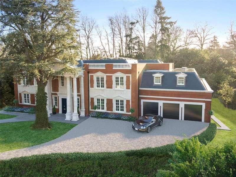 6 Bedrooms Detached House for sale in Torland Drive, Oxshott, Surrey, KT22