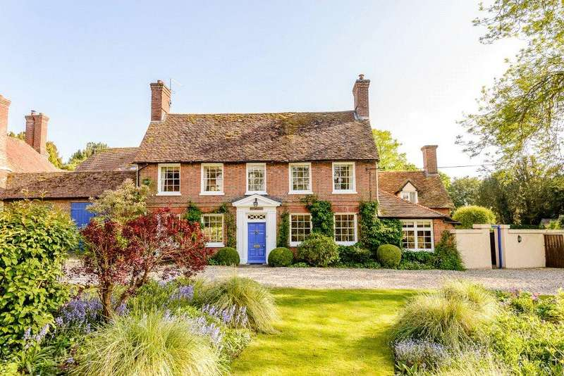 4 Bedrooms Detached House for sale in Church Road, Bradfield, Reading, RG7