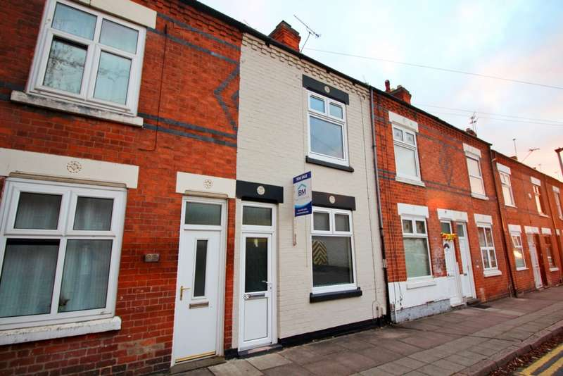 3 Bedrooms Terraced House for sale in Sherrard Road, Leicester, LE5