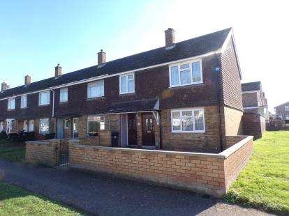 3 Bedrooms End Of Terrace House for sale in Bournside, Brickhill, Bedford, Bedfordshire