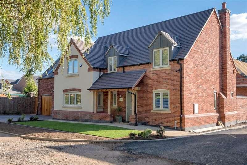 5 Bedrooms Detached House for sale in Plot 6, Brick Kiln Lane, Shepshed