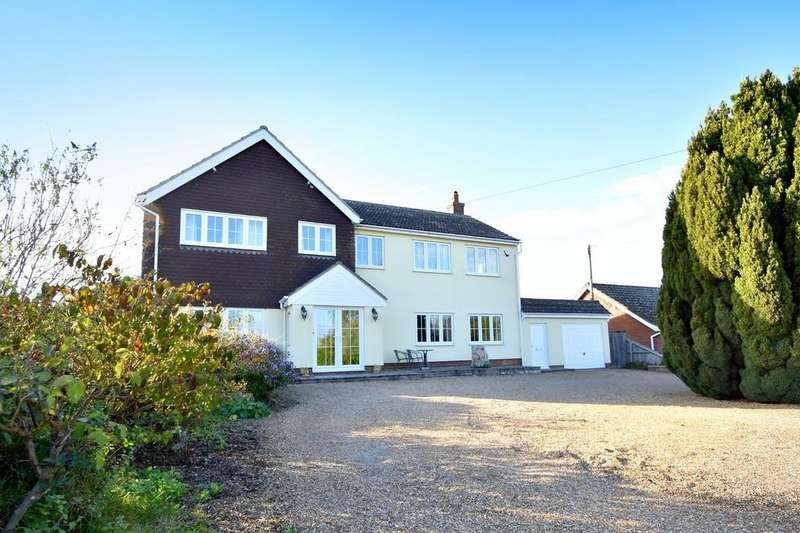5 Bedrooms Detached House for sale in Rectory Field, Chelmondiston, Ipswich, IP9 1HY