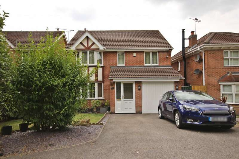 4 Bedrooms Detached House for sale in Newlyn Drive, South Normanton, , Alfreton, DE55
