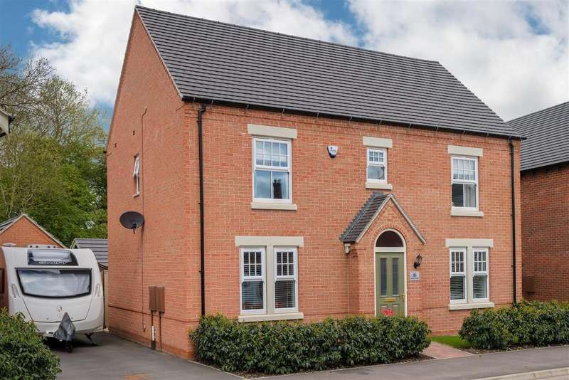 4 Bedrooms Detached House for sale in Adderley Avenue, Weddington
