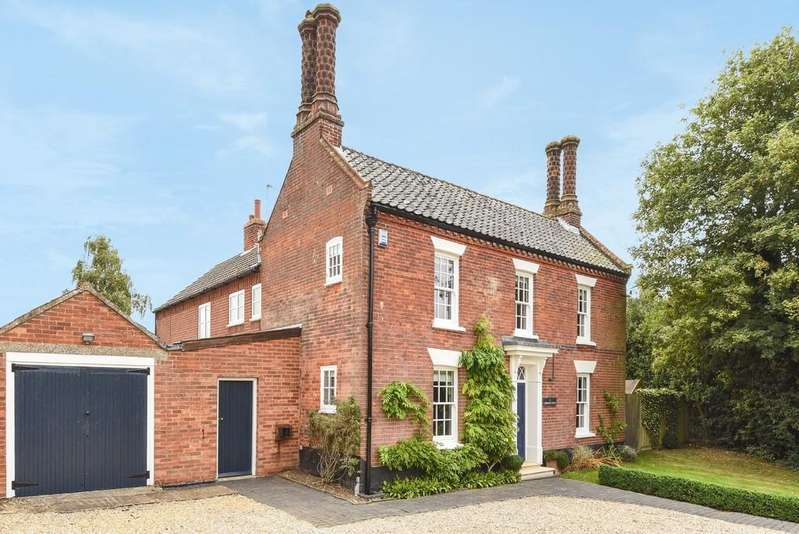 4 Bedrooms Detached House for sale in Mattishall