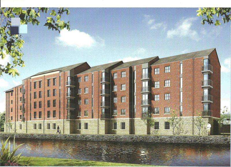 2 Bedrooms Apartment Flat for sale in Sandpipers Rope Walk, Congleton Cheshire CW12 1HN