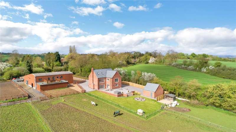 4 Bedrooms Detached House for sale in Ingarsby Road, Keyham, Leicestershire