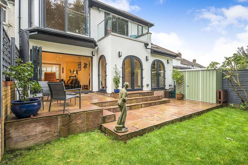 4 Bedrooms Semi Detached House for sale in Beverley Way, London, SW20