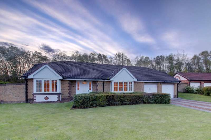 3 Bedrooms Detached Bungalow for sale in North Ridge, Red House Farm , Whitley Bay, NE25