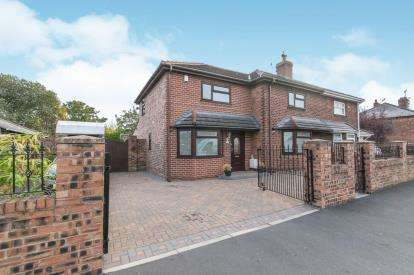 4 Bedrooms Semi Detached House for sale in The Boulevard, Great Sutton, Ellesmere Port, Cheshire, CH65