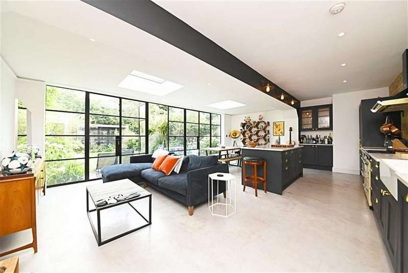 2 Bedrooms Flat for sale in Brondesbury Villas, Queens Park, London, NW6