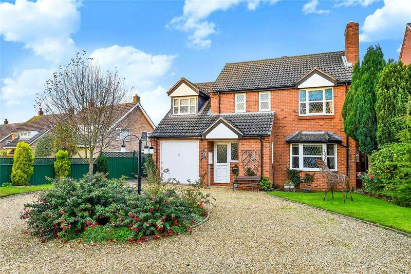 4 Bedrooms Detached House for sale in The Drift, Harlaxton, NG32
