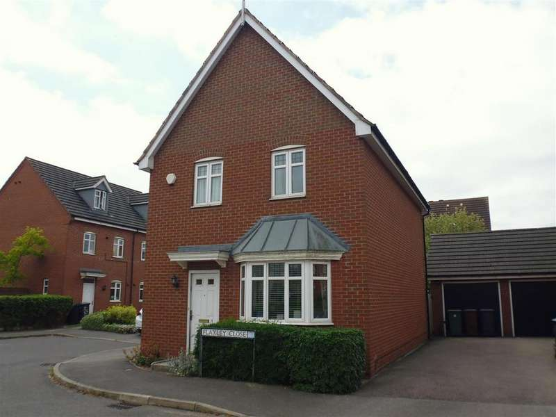 3 Bedrooms Detached House for sale in Flaxley Close, Lincoln