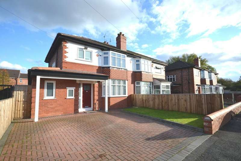 3 Bedrooms Semi Detached House for sale in Carrington Road, Fallowfield
