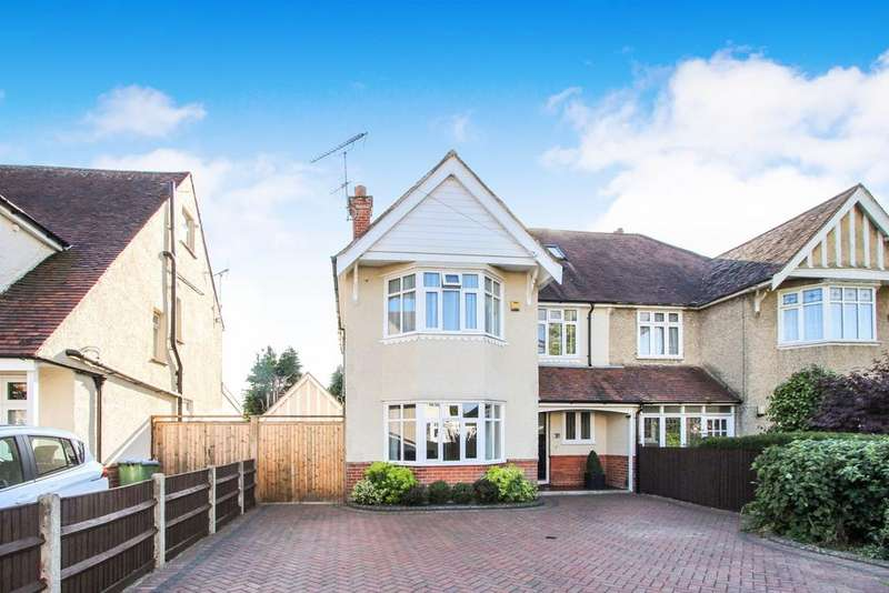 4 Bedrooms Semi Detached House for sale in Evelyn Crescent, Upper Shirley, Southampton, SO15