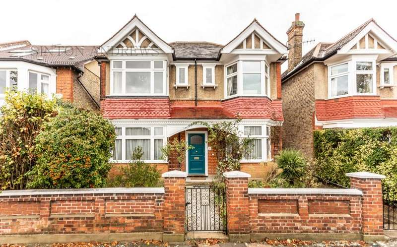 4 Bedrooms Detached House for sale in Amherst Avenue, Ealing, W13