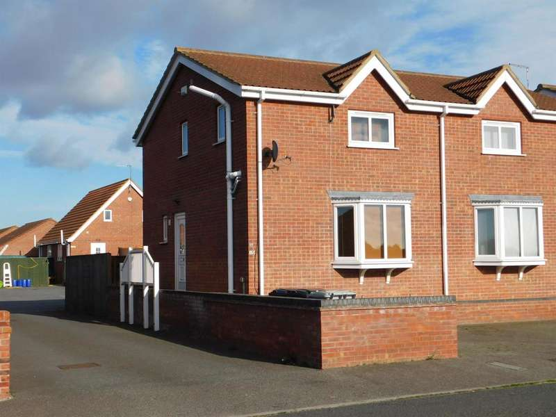2 Bedrooms Semi Detached House for sale in Church Lane, Winthorpe, Skegness, PE25 1EW