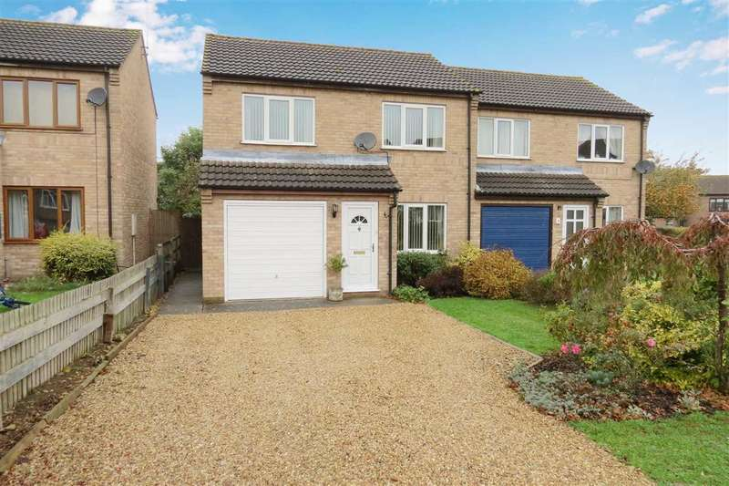 3 Bedrooms Semi Detached House for sale in Heath Lane, Leasingham