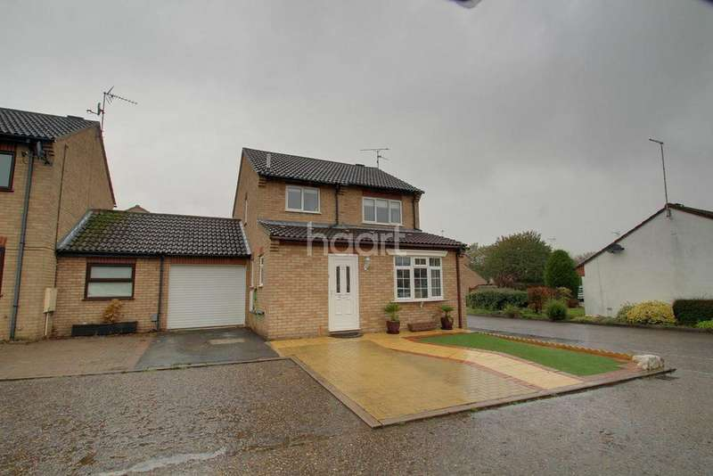 3 Bedrooms Detached House for sale in Carradale, Orton Bimbles, Peterborough, PE2 5XQ
