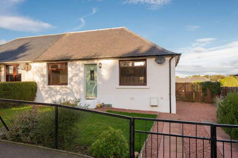 2 Bedrooms Semi Detached Bungalow for sale in 5 Stenton Road, West Barns, EH42 1UG