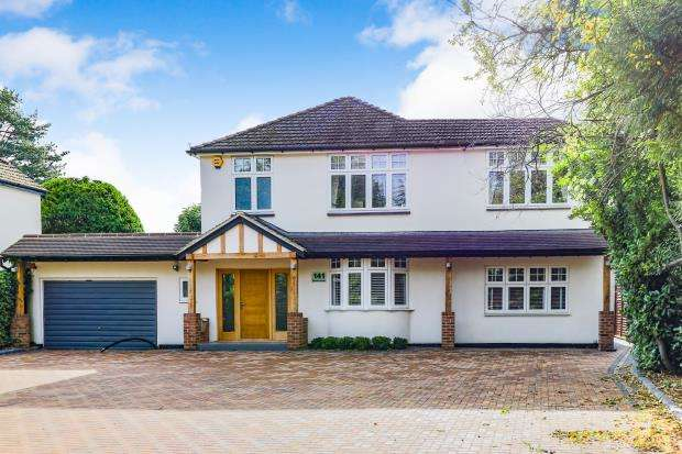 5 Bedrooms Detached House for sale in Great Bookham, Leatherhead, Surrey