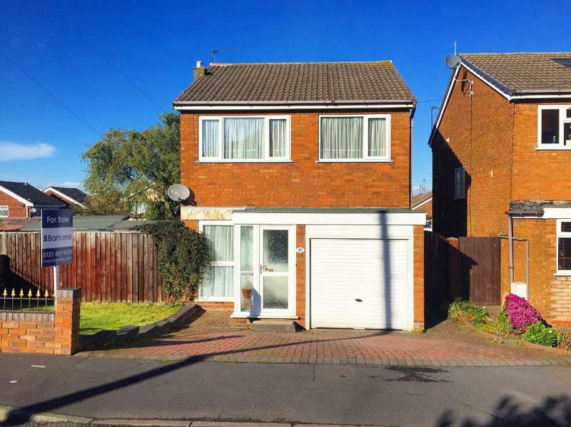 3 Bedrooms Detached House for sale in PLEASANT STREET, WEST BROMWICH, WEST MIDLANDS, B70 0RE