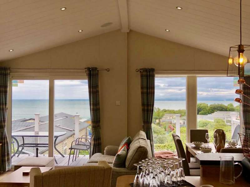 2 Bedrooms Lodge Character Property for sale in Quay West Holiday Park, Ceredigion