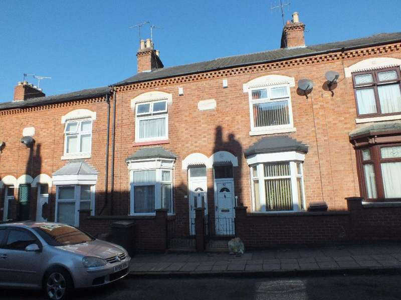 2 Bedrooms Terraced House for sale in Frederick Road, Highfields, Leicester, LE5 3HE