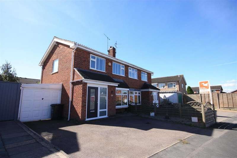 3 Bedrooms Semi Detached House for sale in Long Furrow, East Goscote, Leicester