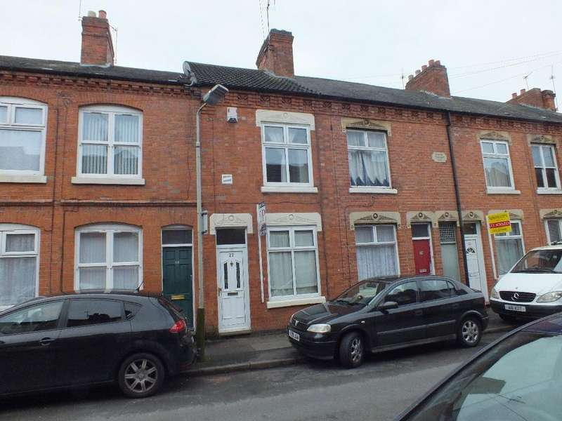 2 Bedrooms Terraced House for sale in Flax Road, Off Melton Road, Leicester, LE4 6QE