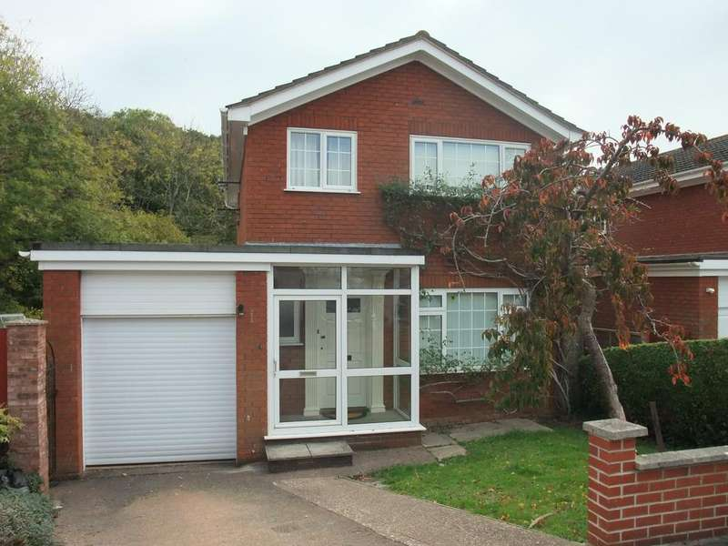 4 Bedrooms Detached House for sale in Fir Tree Close, Exmouth