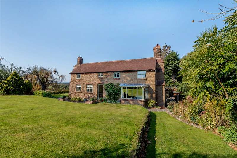3 Bedrooms Detached House for sale in Stone Cottage, Pound Bank, Rock, Kidderminster, Worcestershire, DY14