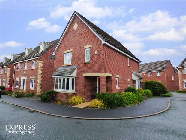 4 Bedrooms Detached House for sale in Bramblewood Close, Overton, Wrexham
