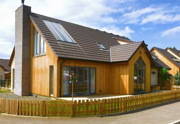 5 Bedrooms Detached House for sale in Strathkalnas Park, Sauchen, Inverurie, Aberdeenshire