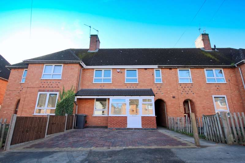 3 Bedrooms Town House for sale in Thurlington Road, Leicester, LE3