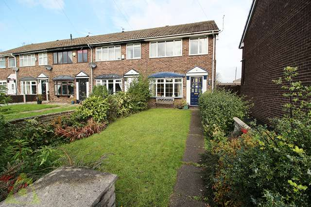 3 Bedrooms End Of Terrace House for sale in Alpine Drive, Leigh, WN7