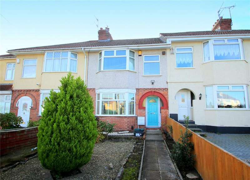 3 Bedrooms Terraced House for sale in King Georges Road, Bishopsworth, Bristol, BS13